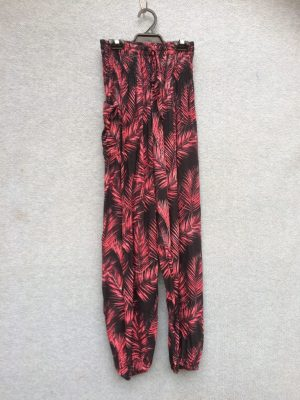 PT-21 Harem Pants – Batik – Deep Red