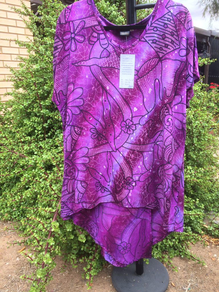 SH-101 Dress Split Back - Purple