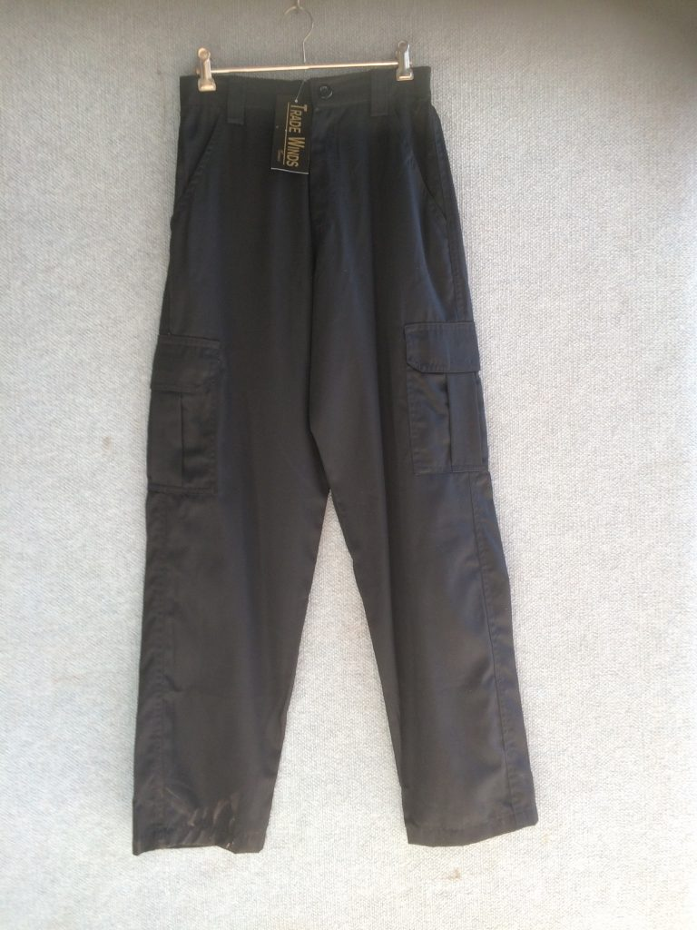 PT-30 Cotton Cargo Pants – Black