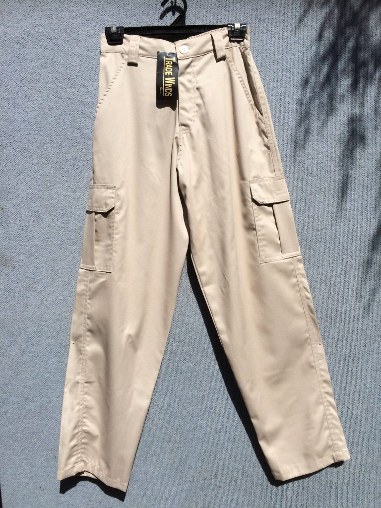PT-30 Cotton Cargo Pants - Beige