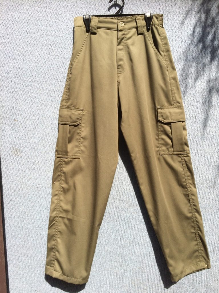 PT-30 Cotton Cargo Pants - Olive Green
